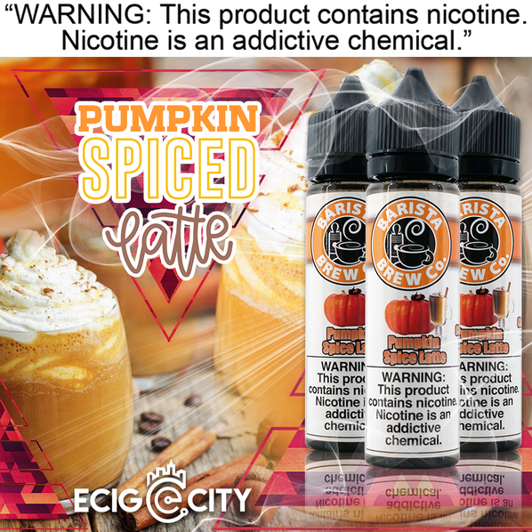 eCig-City Online: Try The New Pumpkin Spice Latte from