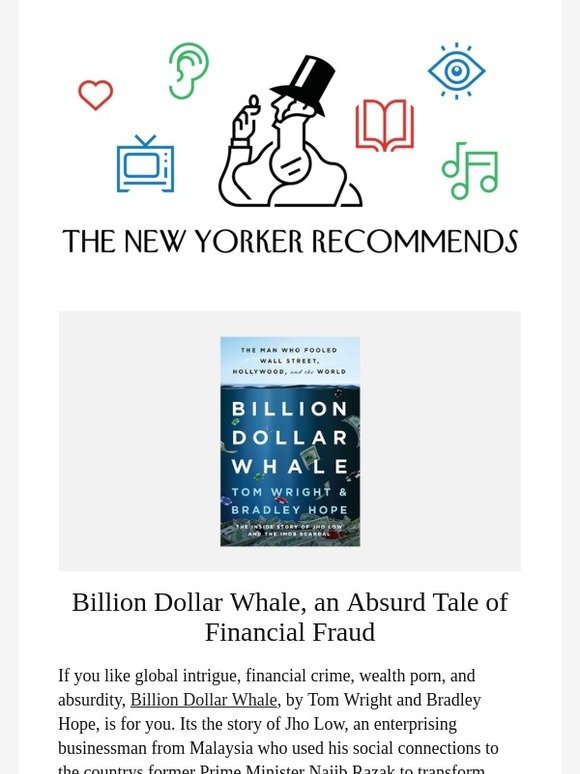 TheNewYorker com: An Absurd Tale of Financial Fraud | Milled