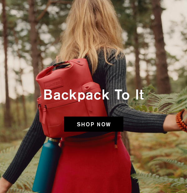 Shop Original Mini Top Clip Backpack - Rubberised Leather: Military Red Now