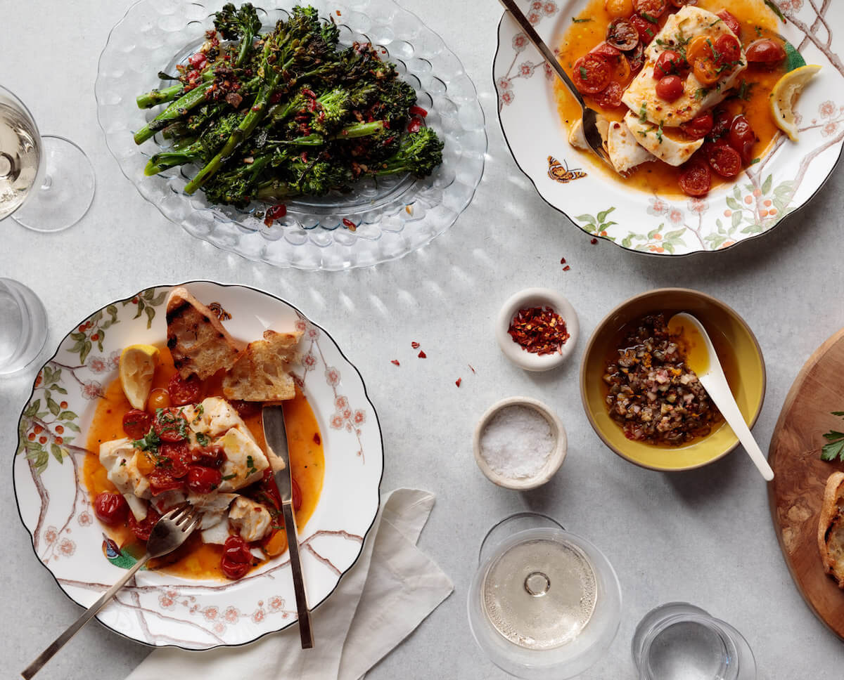 How to Pull Off a Date-Night Menu with Weeknight Ease