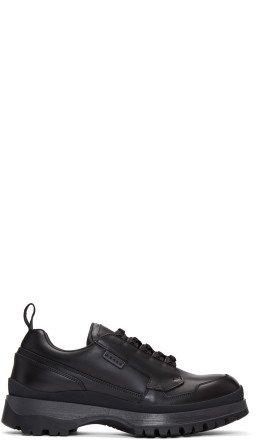Prada - Black Allaciate Sneakers