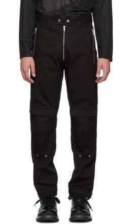 GmbH - Black Yolanda Cargo Trousers