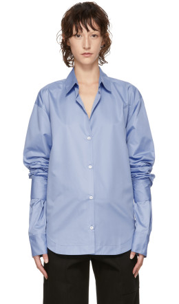 Markoo - Blue 'The Double Sleeve Button Down' Shirt