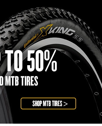 Save up to 50% on Road and MTB Tyres