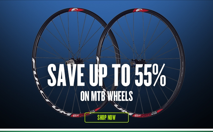 Save up to 55% on MTB Wheels