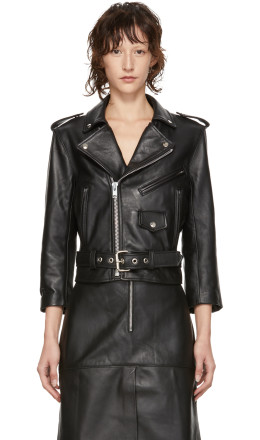 Markoo - Black Leather 'The Moto' Jacket