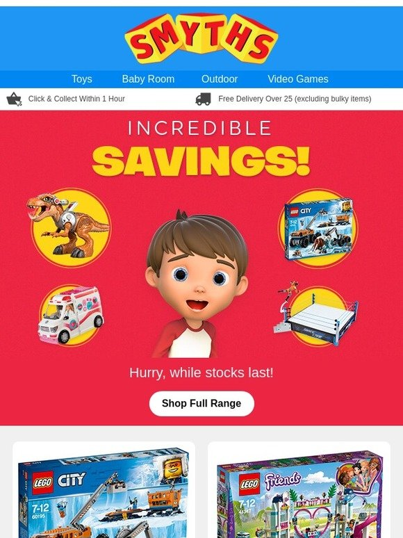 Smyths Toys Hq Incredible Savings In Store And Online Now Milled
