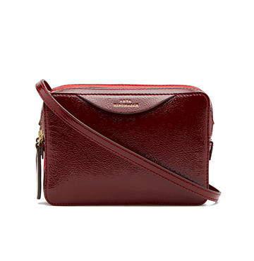 Anya Hindmarch Stack Double Wallet with Strap $550