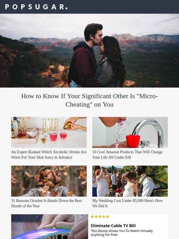 popsugar must have: How to Know If Your Significant Other Is