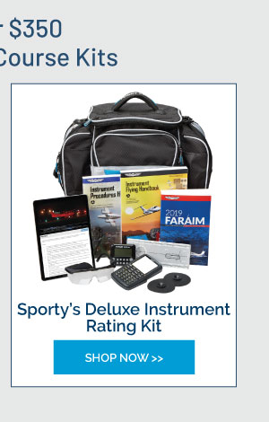 Sporty's Deluxe Instrument Rating Kit