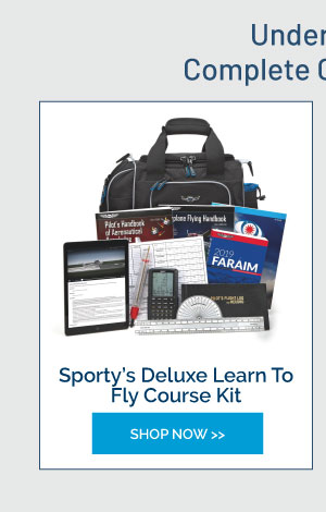 Sporty's Deluxe Learn To Fly Course Kit