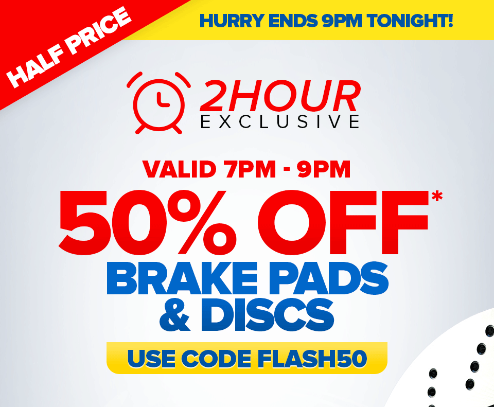 Euro Car Parts Flash Sale 2 Hours Only Grab 50 Off