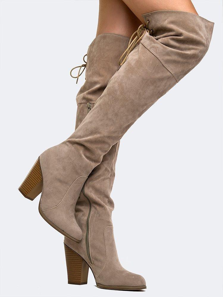 Image of Buffy Knee High Boot