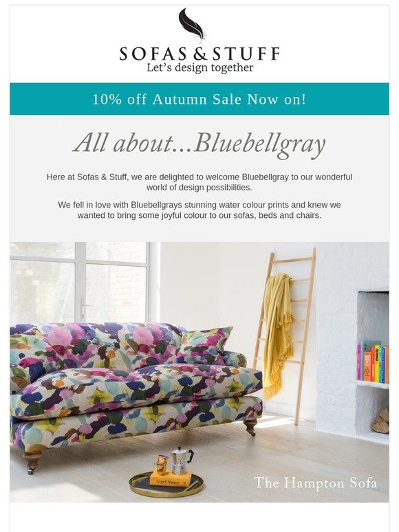 Sofas and Stuff Limited: , Introducing Bluebellgray | Milled