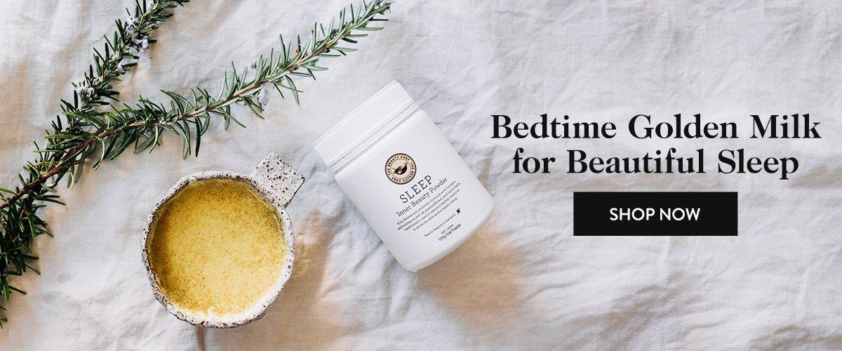 Bedtime Golden Milk for Beautiful Sleep