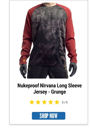Nukeproof Nirvana Long Sleeve Jersey - Grunge