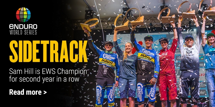 Sam Hill is EWS Champion for second year in a row