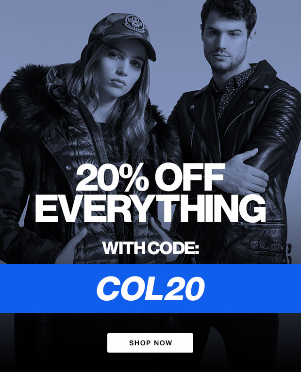 20% Off Everything With Code: COL20