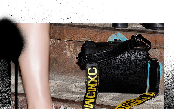 93e72795f38 Steve Madden  Your new weekend bag is here.
