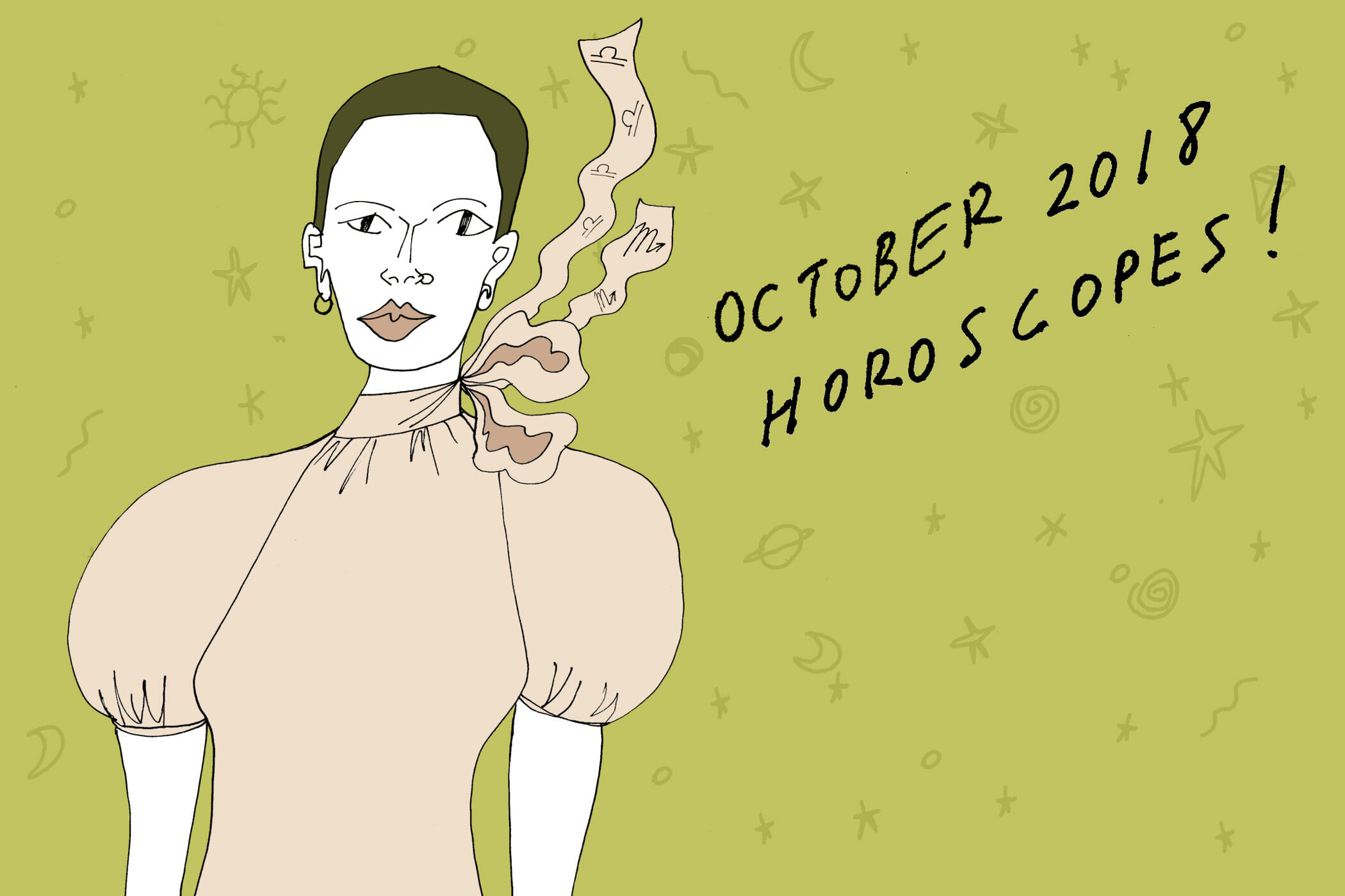 your october horoscope is here and excited about your group halloween costume