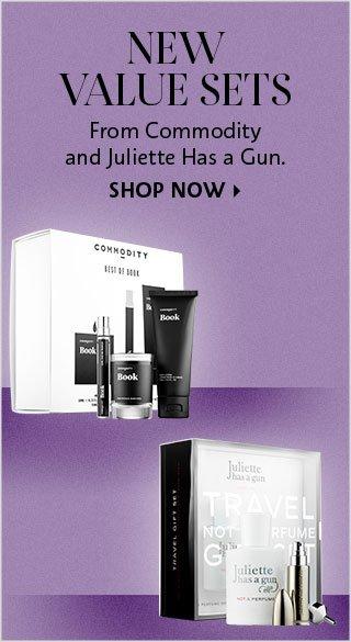 New Fragrance Value Sets