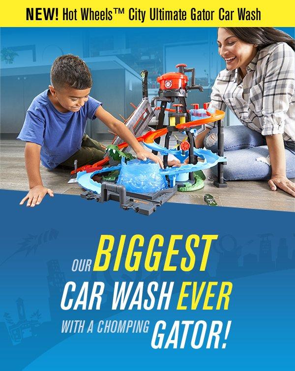 Mattel Shop Our Biggest Car Wash Ever Milled