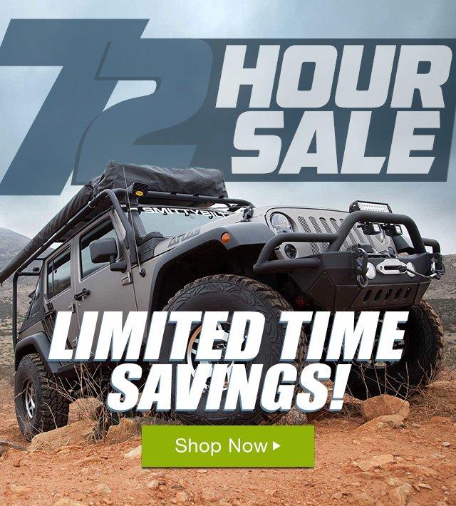 72 Hour Sale!