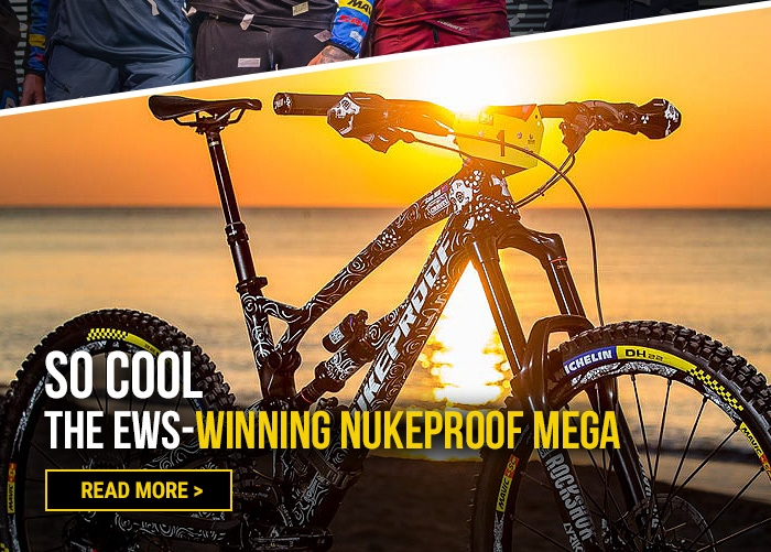 So cool  the EWS-winning Nukeproof Mega
