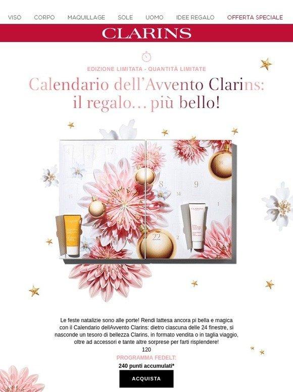 Clarins Calendario Avvento.Clarins It Scopri Il Calendario Dell Avvento Ti Aspetta