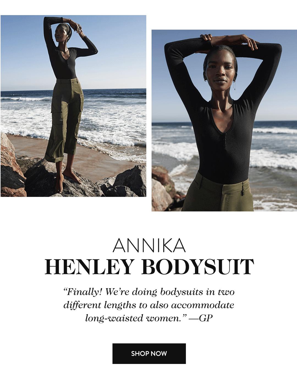 Annika Henley Bodysuit