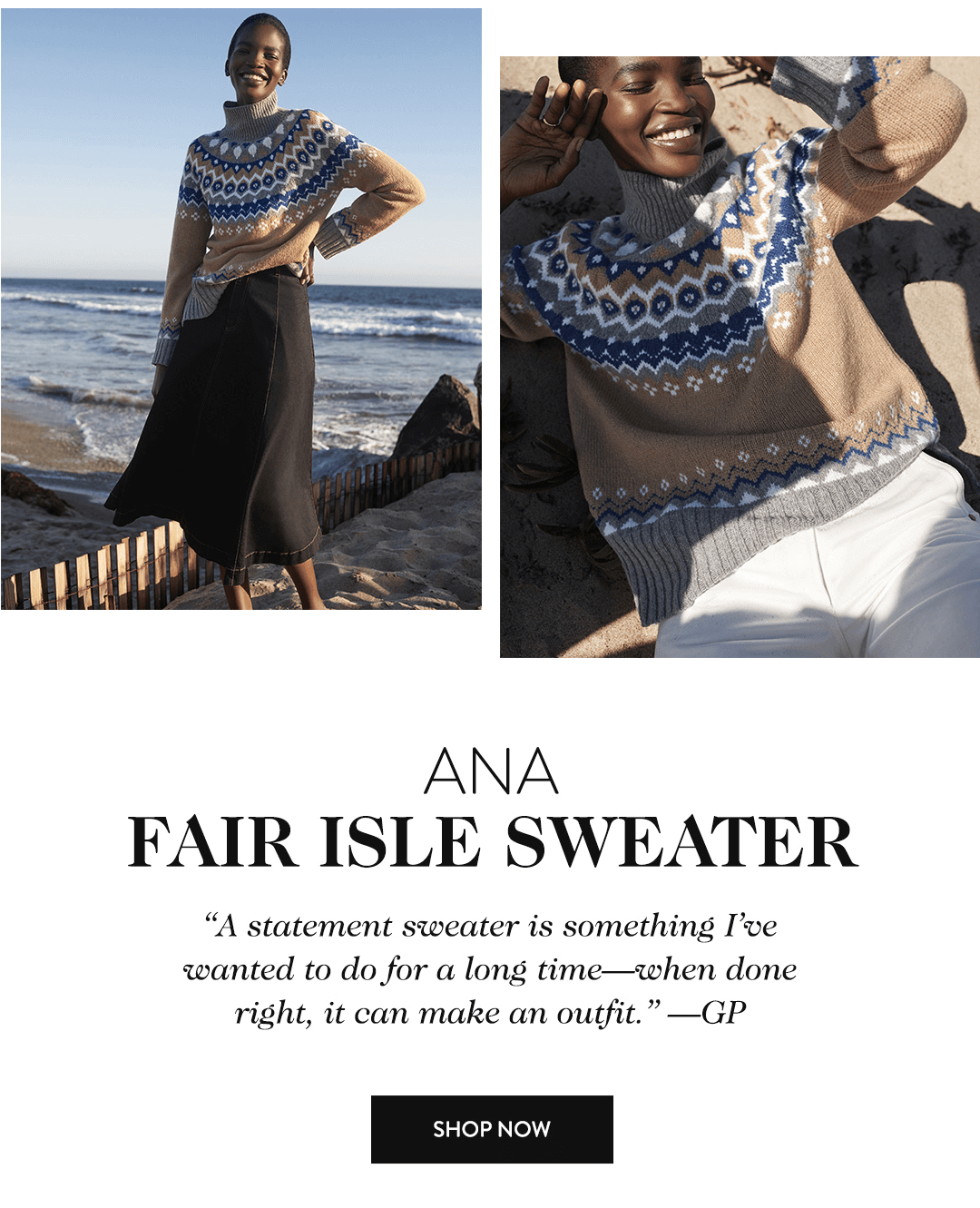 Ana Fair Isle Sweater