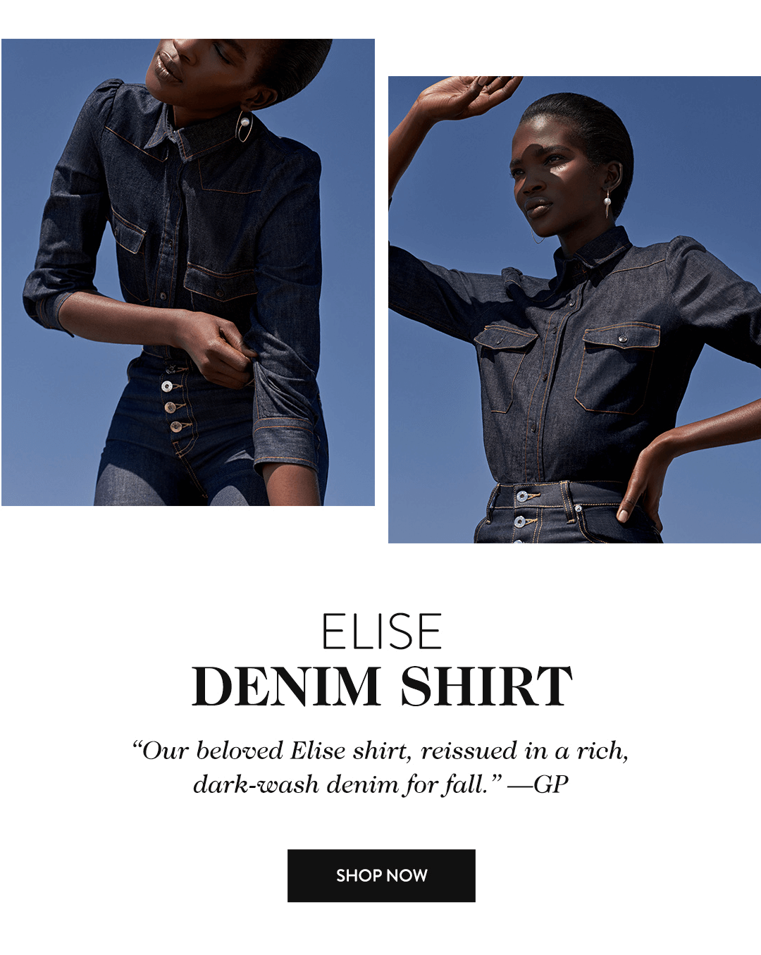 Elise Denim Shirt