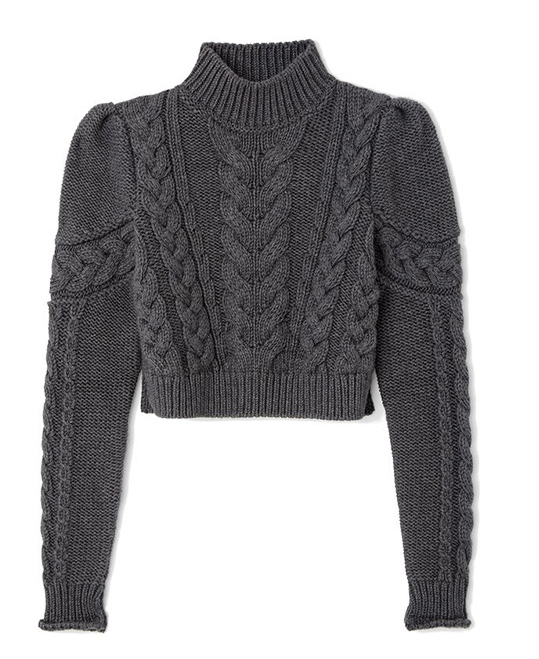 Cohen Chunky Cable Sweater