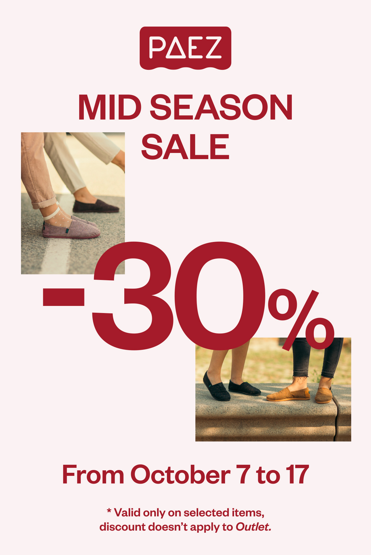 70c634f56a Paez ES  MID SEASON SALES -30% OFF