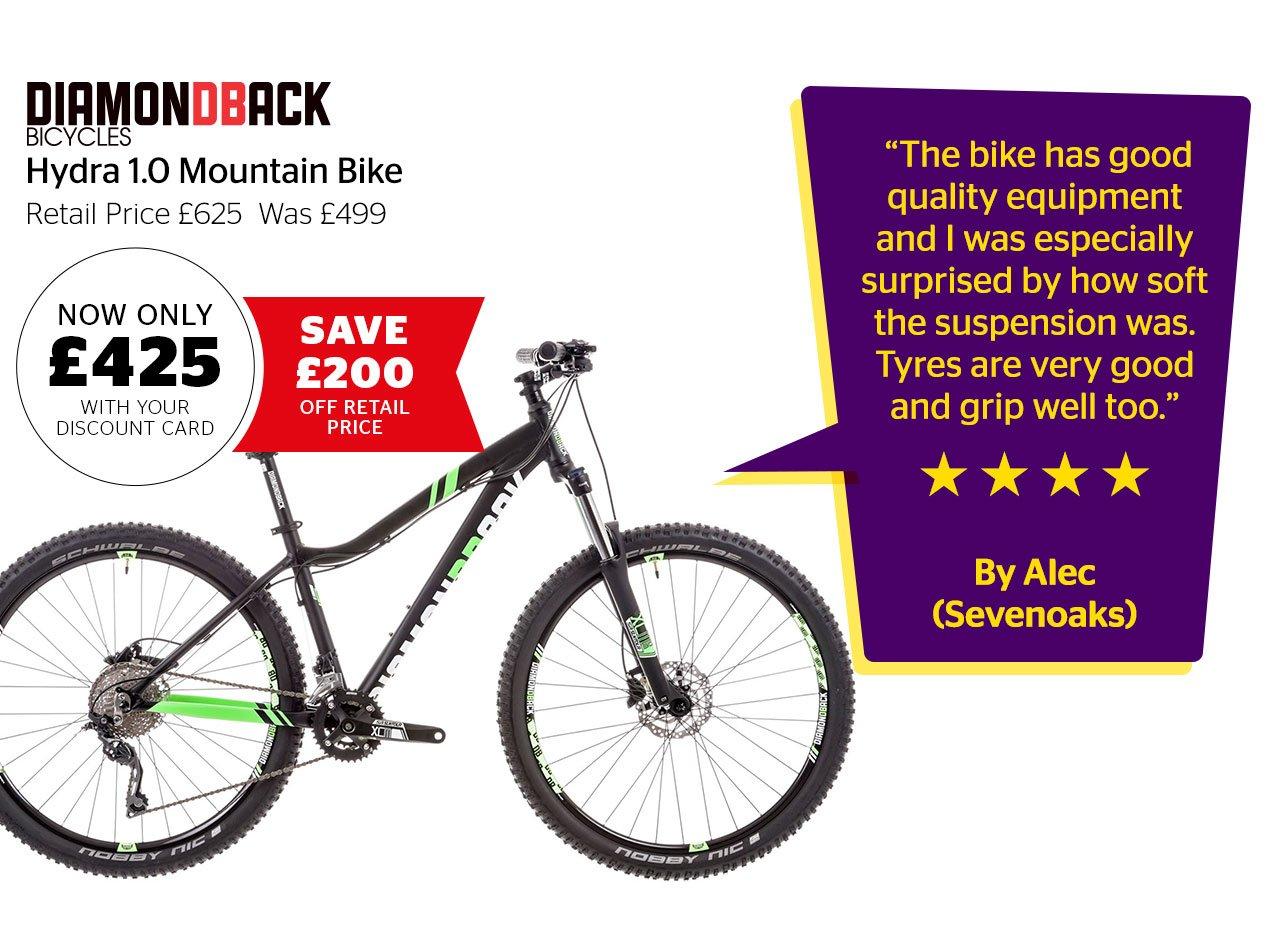 Diamondback Hydra 1.0 Mountain Bike