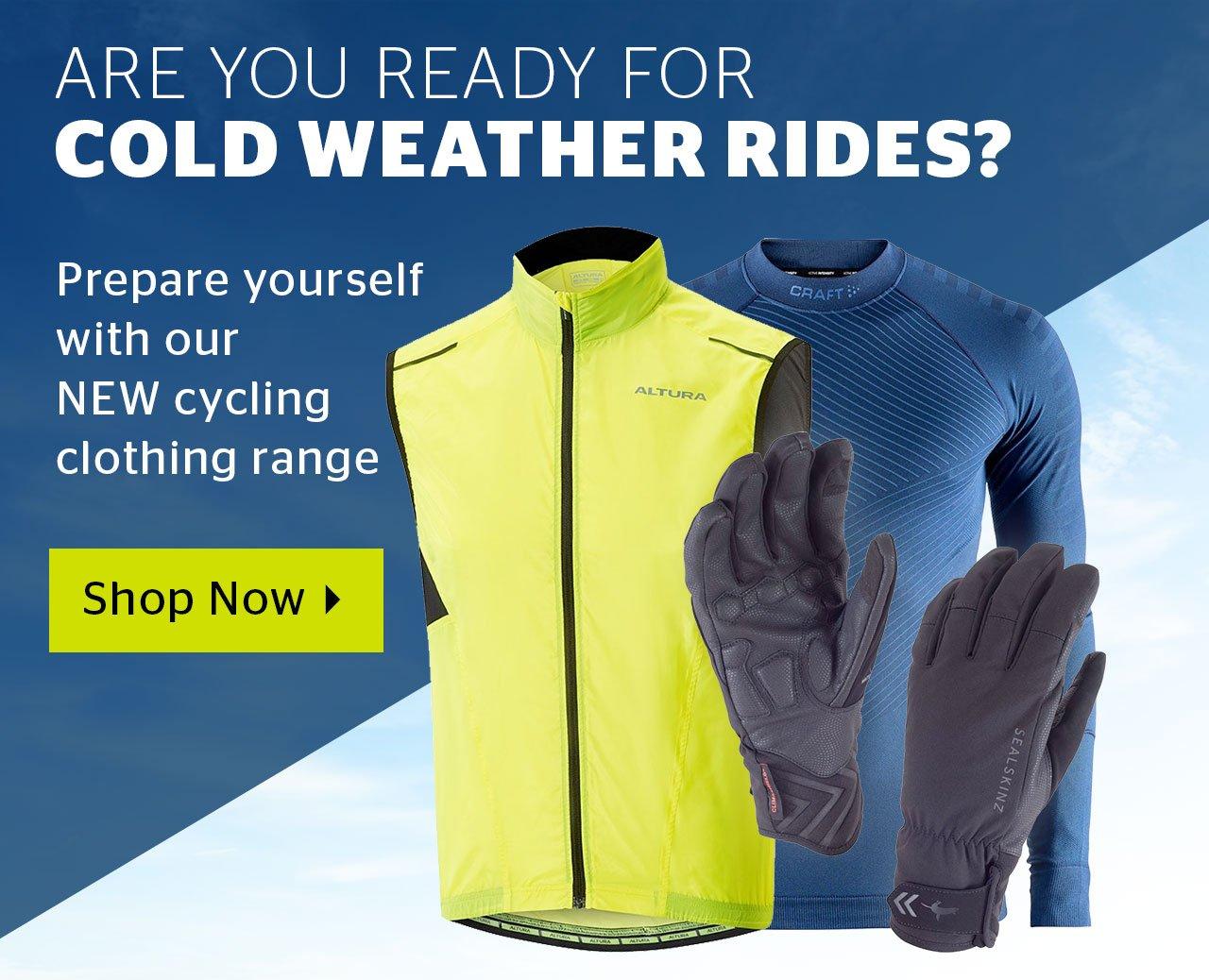 Shop New Cycling Range