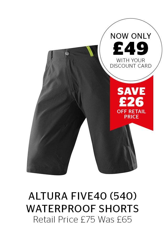 Altura Five40 Waterproof Shorts