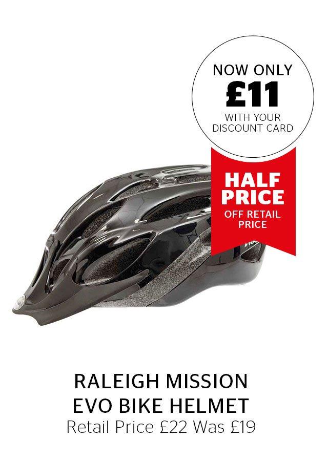 Raleigh Mission Evo Bike Helmet