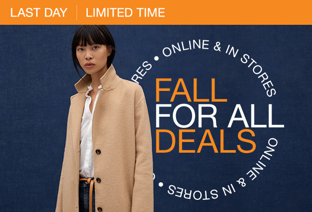 FALL FOR ALL DEALS