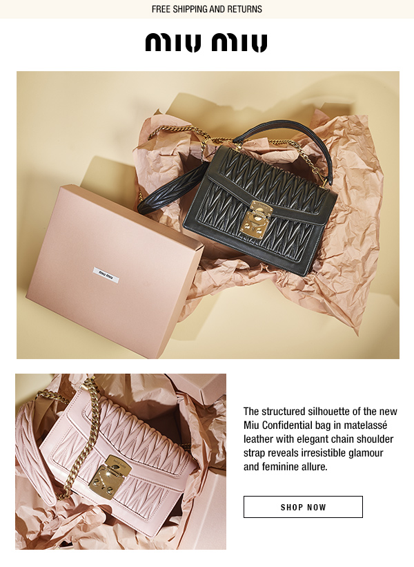 960ca4388a46 Miu Miu  Discover the new Miu Confidential bag