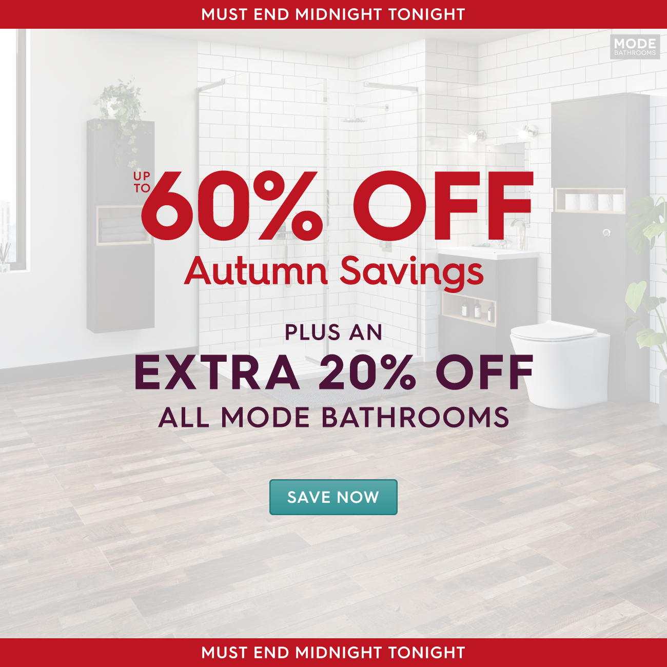 Superieur 20% Off ALL Mode Bathrooms