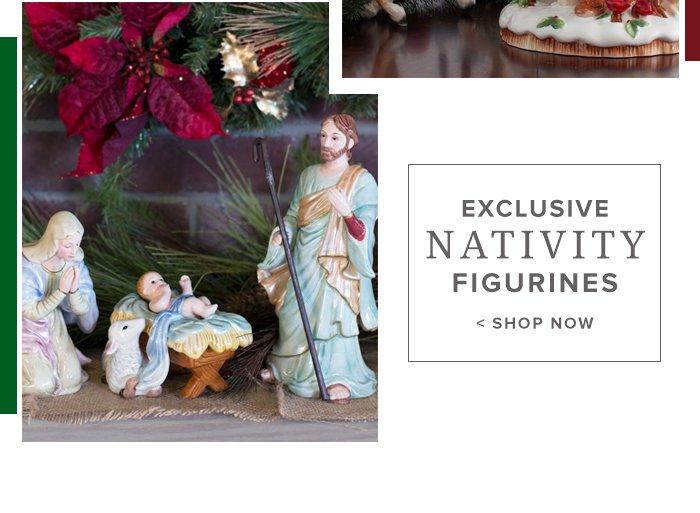 Shop Nativity Figurines