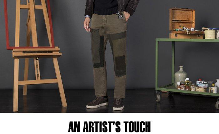 An artist touch