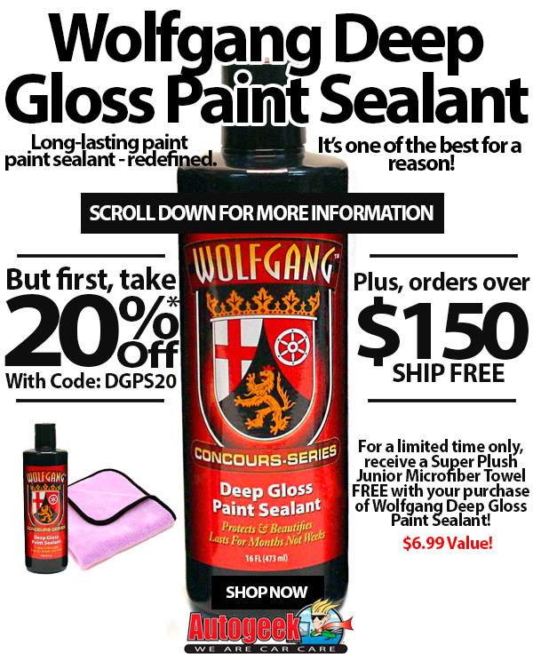 Autogeek net: Wolfgang Deep Gloss Paint Sealant redefines paint