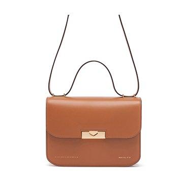 Victoria Beckham Camel Eva Leather Bag $1,510