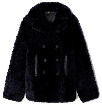 Hecktor Teddy Sheepskin Coat