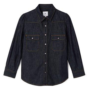 G. Label Elise Denim Shirt $245