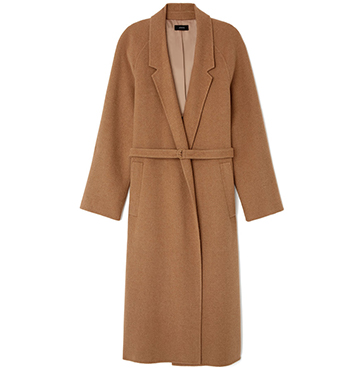 Solferino Camel Hair Trench Coat