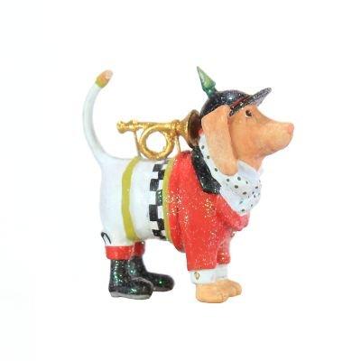 Patience Brewster Bugler Beagle Mini Ornament