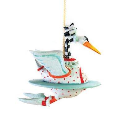 Patience Brewster 12 Days Swan Mini Ornament